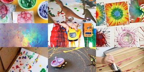 7.1-7.3 Tiny Techniques - Process Art Mini Camp (ages 2+) tickets