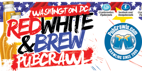 Washington D.C. July 4th Weekend Pub Crawl 2019 tickets