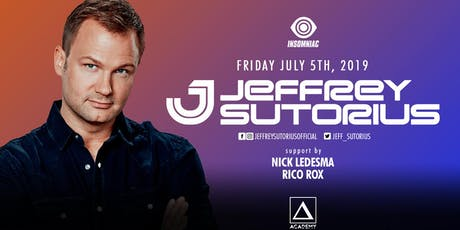 Jeffrey Sutorius tickets