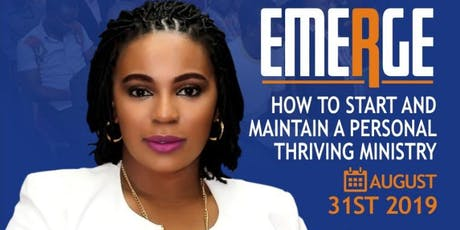 EMERGE: How to Start and Maintain a Thriving Personal Ministry tickets
