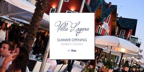 Villa Laguna Summer Opening • 21.06 biglietti