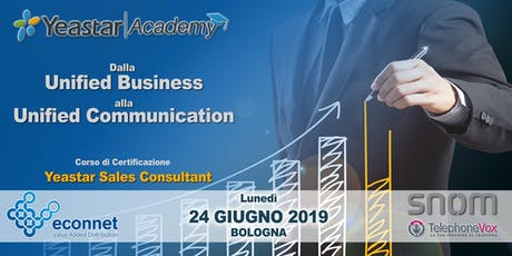 Corso di Certificazione Yeastar Sales Consultant - VoIP Unified Business tickets