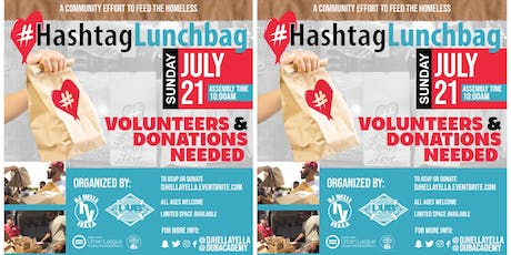 Feed The Streets  #HashtagLunchbag (Summer '19) tickets