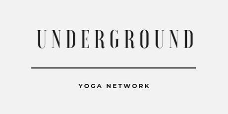 Underground Yoga Network tickets