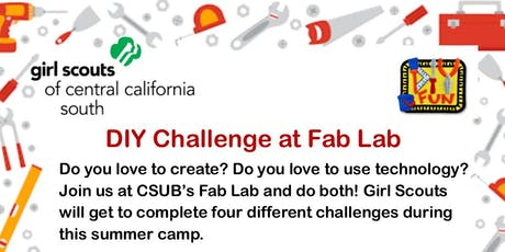 DIY Design Challenge at the Fab Lab - Kern  tickets