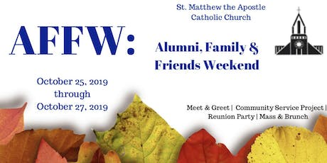 AFFW: Alumni, Family & Friends Weekend tickets