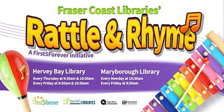 Rattle and Rhyme - Maryborough Library - 2 Years and Under tickets