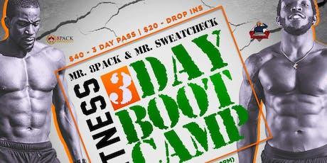 Mr.8Pack & Mr.SweatCheck Bootcamp tickets