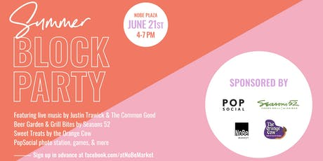 NOBE Summer Block Party tickets
