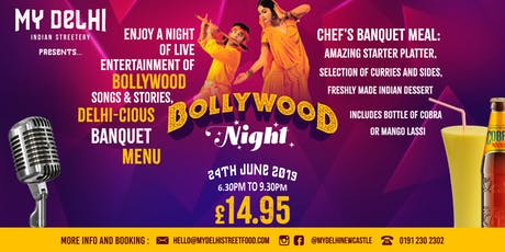 Bollywood Night tickets