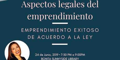 ASPECTOS LEGALES DEL EMPRENDIMIENTO tickets