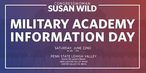 Military Academy Information Day with Congresswoman Susan Wild