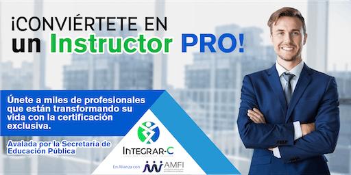 ¡Certifícate como Instructor PRO!