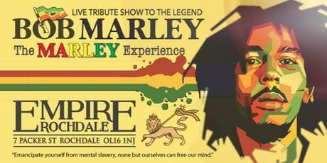 Bob Marley - No'1 Tribute Band 'The Marley Experience' tickets