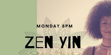 Zen Yin Yoga  tickets