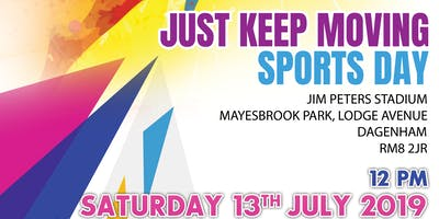 Just Keep Moving Sports Day 2019