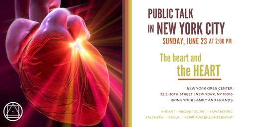"""Contemplative Reading in New York City - """"The heart and the HEART"""""""