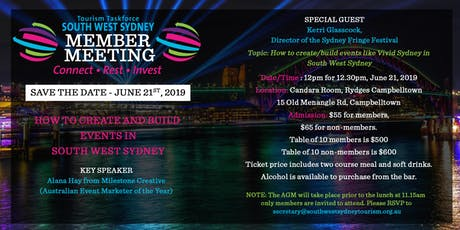 How can we  bring events like Vivid Sydney to SouthWest Sydney tickets