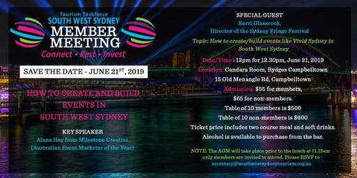 How can we  bring events like Vivid Sydney to SouthWest Sydney