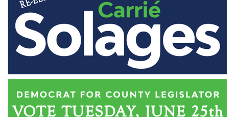 VALLEYSTREAM: MEET & GREET WITH OUR LOCAL LEGISLATOR CARRIE SOLAGES tickets