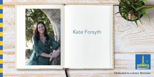 Meet Kate Forsyth - Brisbane Square Library