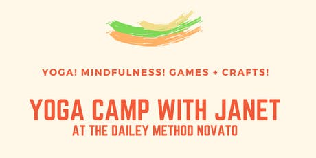 Kids Yoga Camp with Janet tickets