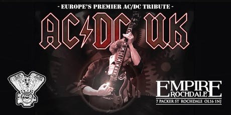 AC/DC UK - Europe's Premier AC/DC Tribute Show tickets