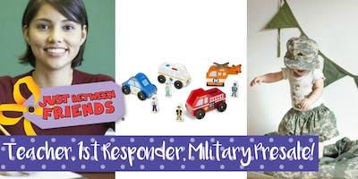 JBF Greeley Teacher/First Responder/Military Presale Pass Holiday '19