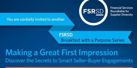 FSRSD Presents - Secrets to Smart Seller-Buyer Engagements tickets