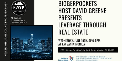 David Greene from Bigger Pockets Presents Leverage Through Real Estate