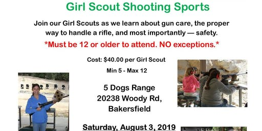 Girl Scout Shooting Sports - Kern