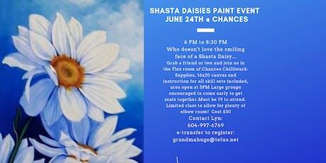 Shasta Daisies Paint Event tickets