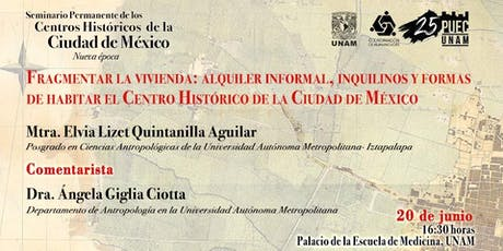Fragmentar la vivienda: alquiler informal, inquilinos y formas de habitar el Centro Histórico de la Ciudad de México entradas