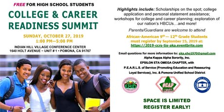 2019 College and Career Readiness Summit tickets
