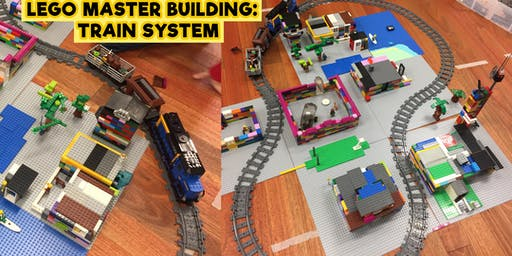LEGO Master Building (Train System) - Monday 1st July