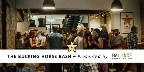 The Bucking Horse Bash - Presented by The Balance Foundation tickets