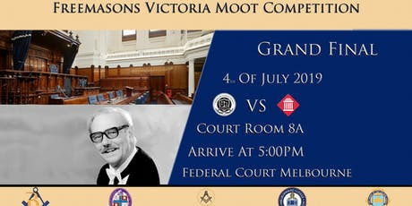 Freemasons Victoria Moot Competition 2019 tickets