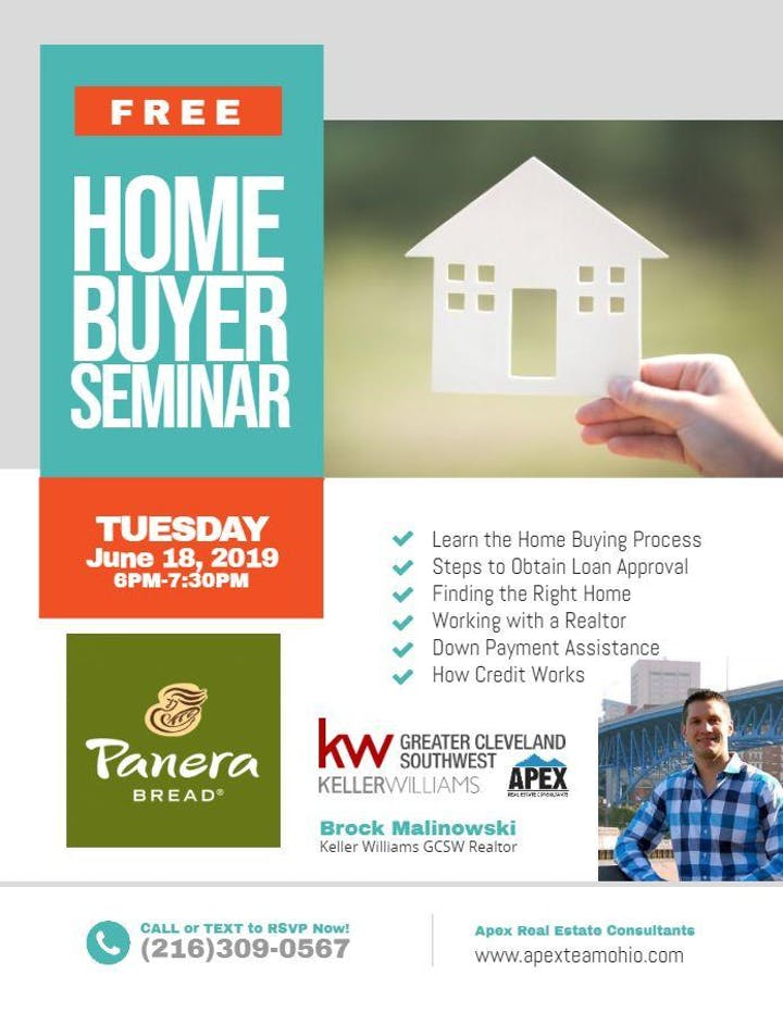 When It All Came Together At Tiedemans >> Free Home Buyers Seminar Panera Bread Tiedeman Tues June 18 6 7