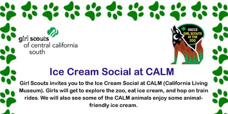 Ice Cream Social at CALM - Kern tickets