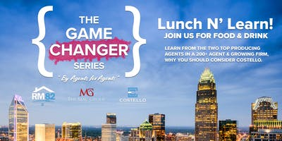 Game Changer Lunch N' Learn - The Real Estate Firm You Need To Know