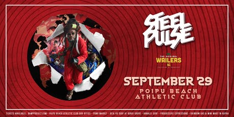 Steel Pulse and The Original Wailers tickets