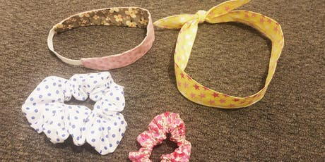 Learn to sew scrunchies & head bands Children's Workshop tickets