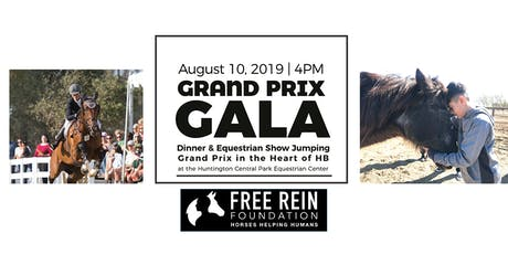 5th Annual Grand Prix Gala Dinner and Horse Show, benefitting Free Rein tickets