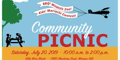 Free Community Picnic & Mariachi Contest