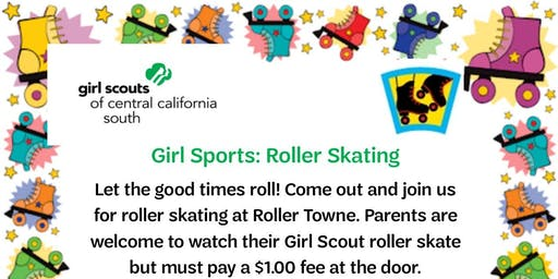 Girl Sports: Roller Skating - Tulare
