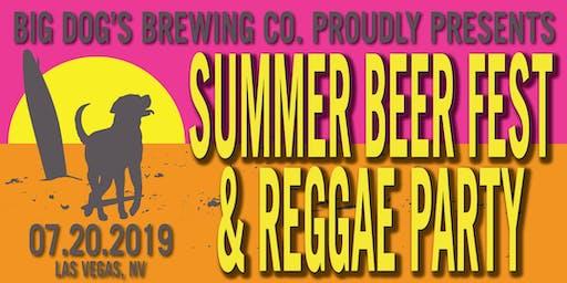 """BIG DOG'S """"Summer Beer Fest & Reggae Party"""" 2019"""