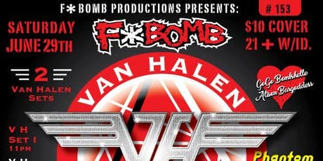 F*Bomb #153: Van Halen Tributes w. Phantom Rocket tickets