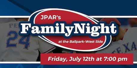 JPAR Night at the Ballpark-West Side tickets