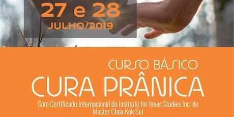 Curso Básico de Cura Prânica (Pranic Healing) - em São Paulo ingressos