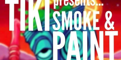 WOKEN ARTS Tiki Paint Party
